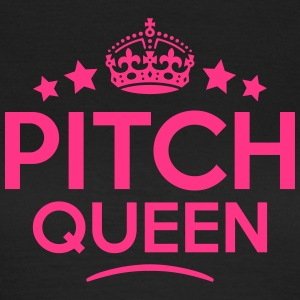 pitch queen keep calm style WOMENS T-SHIRT - Women's T-Shirt