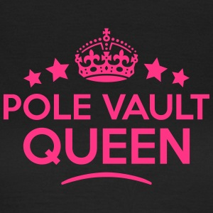 pole vault queen keep calm style WOMENS T-SHIRT - Women's T-Shirt