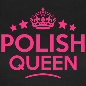 polish queen keep calm style WOMENS T-SHIRT - Women's T-Shirt