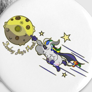 donkey jay s Planet Hero Buttons & Anstecker - Buttons groß 56 mm