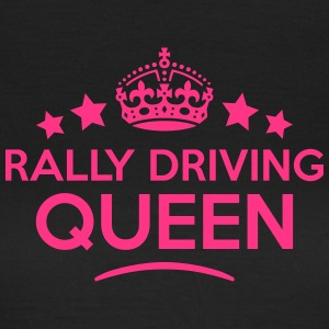 rally driving queen keep calm style WOMENS T-SHIRT - Women's T-Shirt