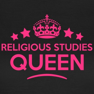 religious studies queen keep calm style  WOMENS T- - Women's T-Shirt
