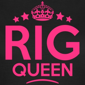 rig queen keep calm style WOMENS T-SHIRT - Women's T-Shirt