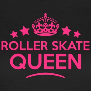 roller skate queen keep calm style WOMENS T-SHIRT - Women's T-Shirt