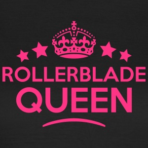 rollerblade queen keep calm style WOMENS T-SHIRT - Women's T-Shirt