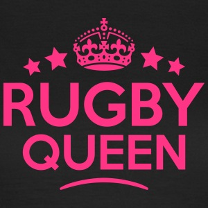 rugby queen keep calm style WOMENS T-SHIRT - Women's T-Shirt
