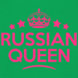 russian  queen keep calm style WOMENS T-SHIRT - Men's T-Shirt