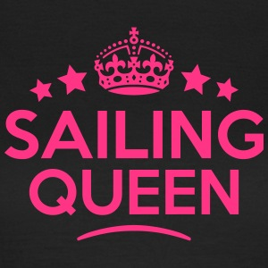 sailing queen keep calm style WOMENS T-SHIRT - Women's T-Shirt