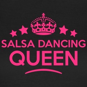 salsa dancing queen keep calm style WOMENS T-SHIRT - Women's T-Shirt