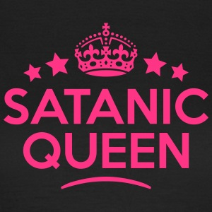 satanic queen keep calm style WOMENS T-SHIRT - Women's T-Shirt