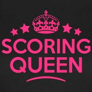 scoring queen keep calm style WOMENS T-SHIRT - Women's T-Shirt