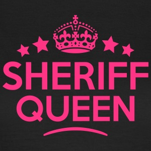 sheriff queen keep calm style WOMENS T-SHIRT - Women's T-Shirt
