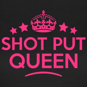 shot put queen keep calm style WOMENS T-SHIRT - Women's T-Shirt