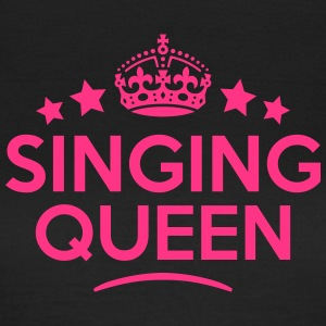singing queen keep calm style WOMENS T-SHIRT - Women's T-Shirt