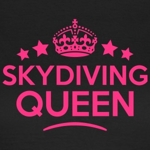 skydiving queen keep calm style WOMENS T-SHIRT - Women's T-Shirt