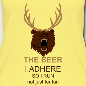 The beer (2c) yellow tank top - Frauen Bio Tank Top