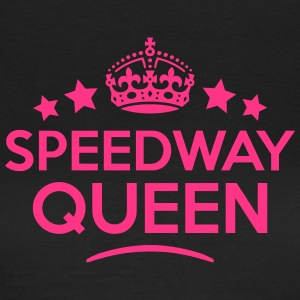 speedway queen keep calm style WOMENS T-SHIRT - Women's T-Shirt