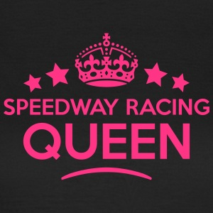 speedway racing queen keep calm style co WOMENS T- - Women's T-Shirt