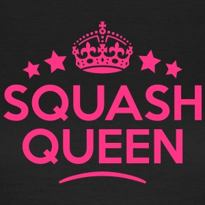 squash queen keep calm style WOMENS T-SHIRT - Women's T-Shirt