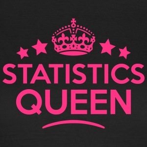 statistics queen keep calm style WOMENS T-SHIRT - Women's T-Shirt