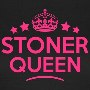 stoner queen keep calm style WOMENS T-SHIRT - Women's T-Shirt