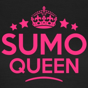 sumo queen keep calm style WOMENS T-SHIRT - Women's T-Shirt
