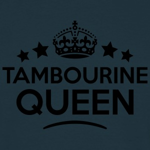 tambourine queen keep calm style WOMENS T-SHIRT - Men's T-Shirt