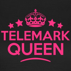 telemark queen keep calm style WOMENS T-SHIRT - Women's T-Shirt