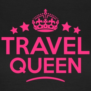 travelling queen keep calm style WOMENS T-SHIRT - Women's T-Shirt