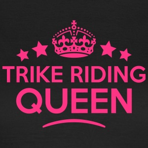 trike riding queen keep calm style WOMENS T-SHIRT - Women's T-Shirt
