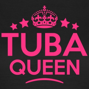 tuba queen keep calm style WOMENS T-SHIRT - Women's T-Shirt