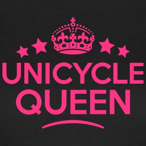 unicycle queen keep calm style WOMENS T-SHIRT - Women's T-Shirt