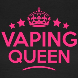 vaping queen keep calm style WOMENS T-SHIRT - Women's T-Shirt