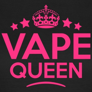 vape queen keep calm style WOMENS T-SHIRT - Women's T-Shirt