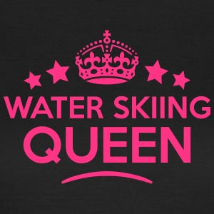 water skiing queen keep calm style WOMENS T-SHIRT - Women's T-Shirt