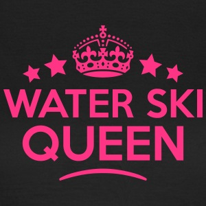 water ski queen keep calm style WOMENS T-SHIRT - Women's T-Shirt