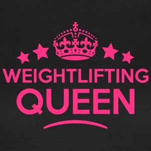 weightlifting queen keep calm style WOMENS T-SHIRT - Women's T-Shirt