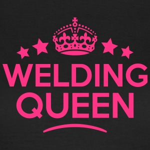 welding queen keep calm style WOMENS T-SHIRT - Women's T-Shirt