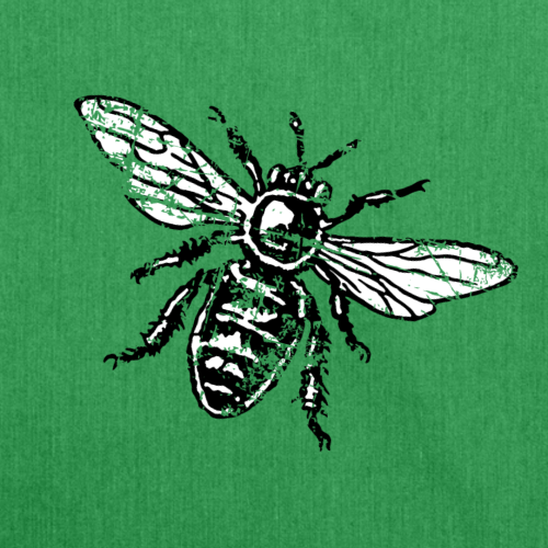 Biene Honigbiene Vintage (zweifarbig)