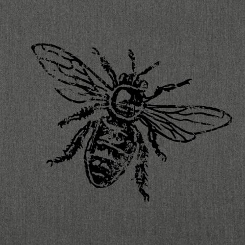 Biene Honigbiene Vintage (einfarbig)