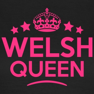 welsh queen keep calm style WOMENS T-SHIRT - Women's T-Shirt