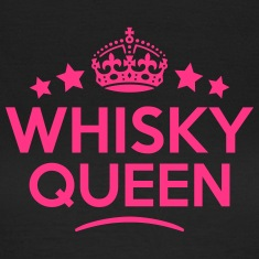 whisky queen keep calm style WOMENS T-SHIRT