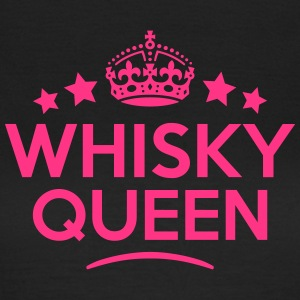whisky queen keep calm style WOMENS T-SHIRT - Women's T-Shirt
