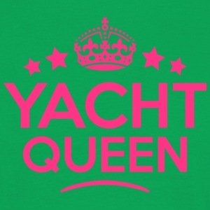 yacht queen keep calm style WOMENS T-SHIRT - Men's T-Shirt