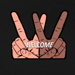 WELCOME T-Shirts - Frauen Premium T-Shirt