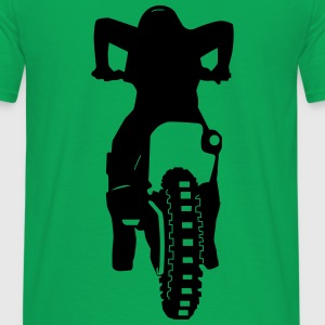 Motocross Start - Männer T-Shirt