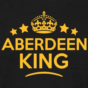 aberdeen king keep calm style crown star T-SHIRT - Men's T-Shirt