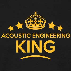 acoustic engineering king keep calm styl T-SHIRT - Men's T-Shirt