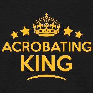 acrobating king keep calm style crown st T-SHIRT - Men's T-Shirt