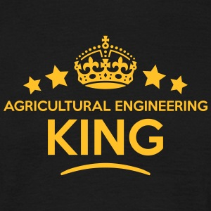 agricultural engineering king keep calm  T-SHIRT - Men's T-Shirt